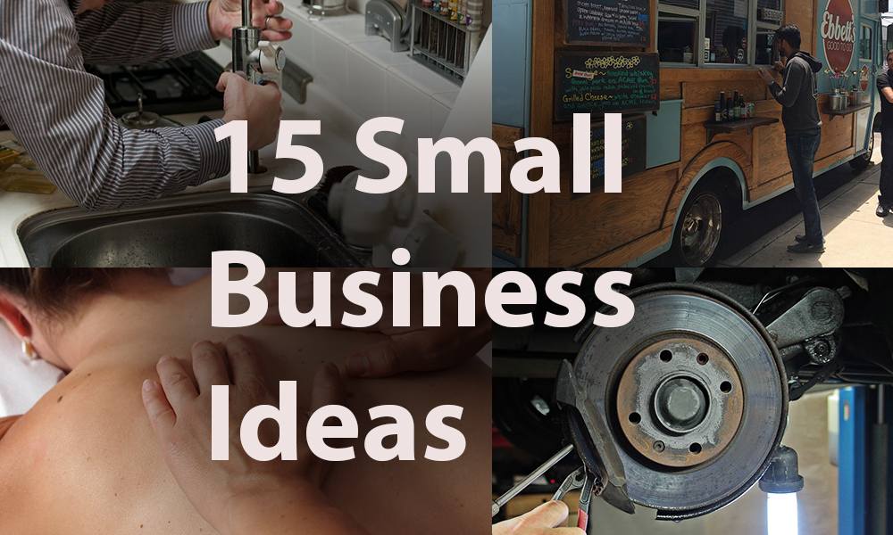 small business ideas list