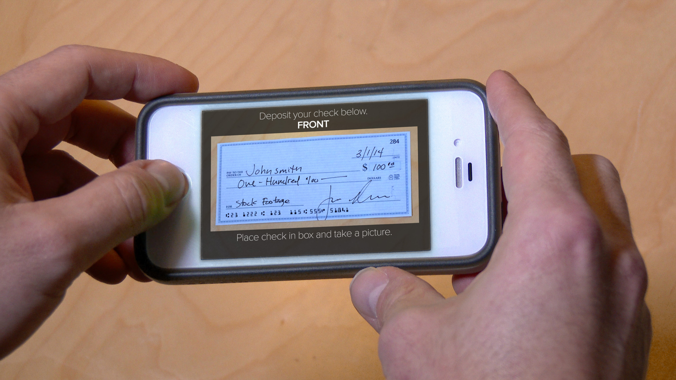 Deposit Check with Cell Phone
