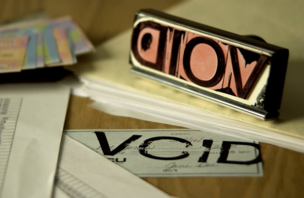 What Is a Voided Check and How to Void a Check