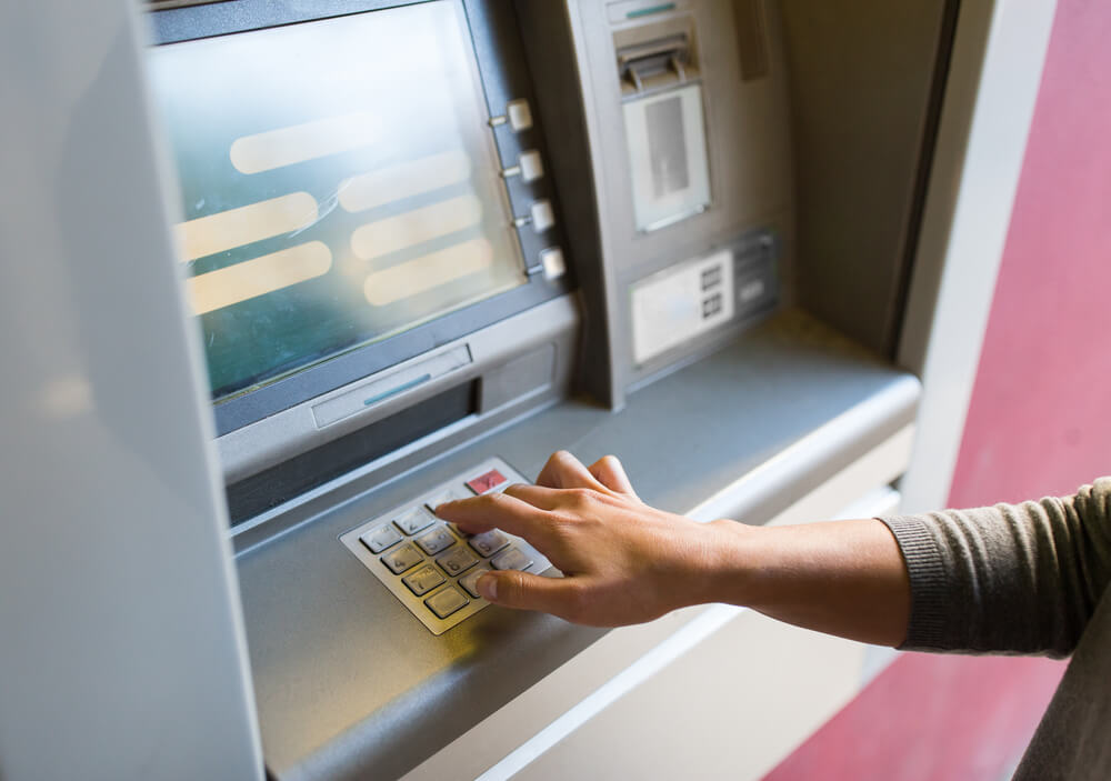 Cashing at the ATMs