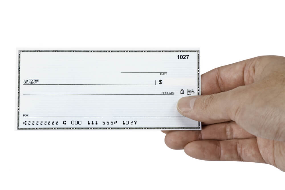 Business and Personal Blank Fillable Check Templates You Can Print