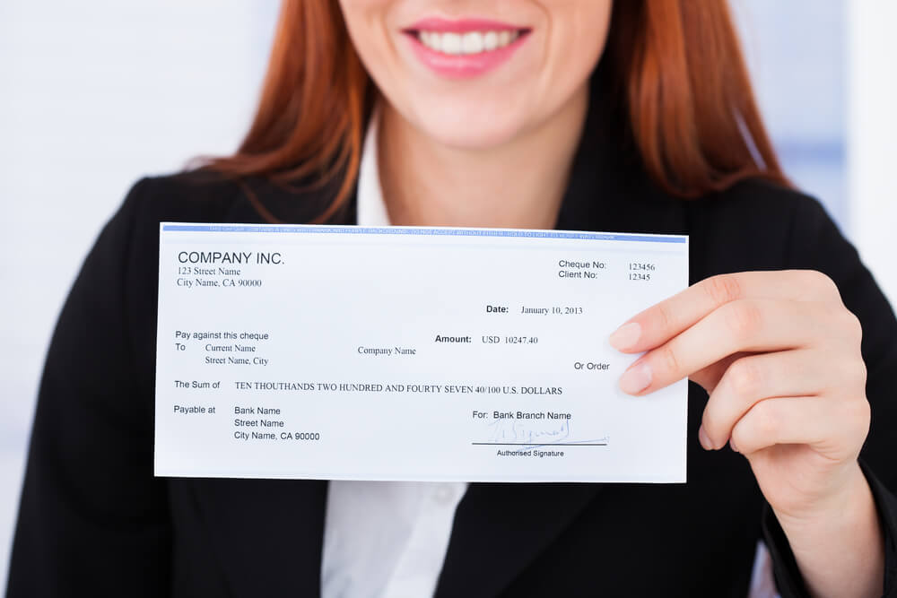 What Is a Blank Check Template