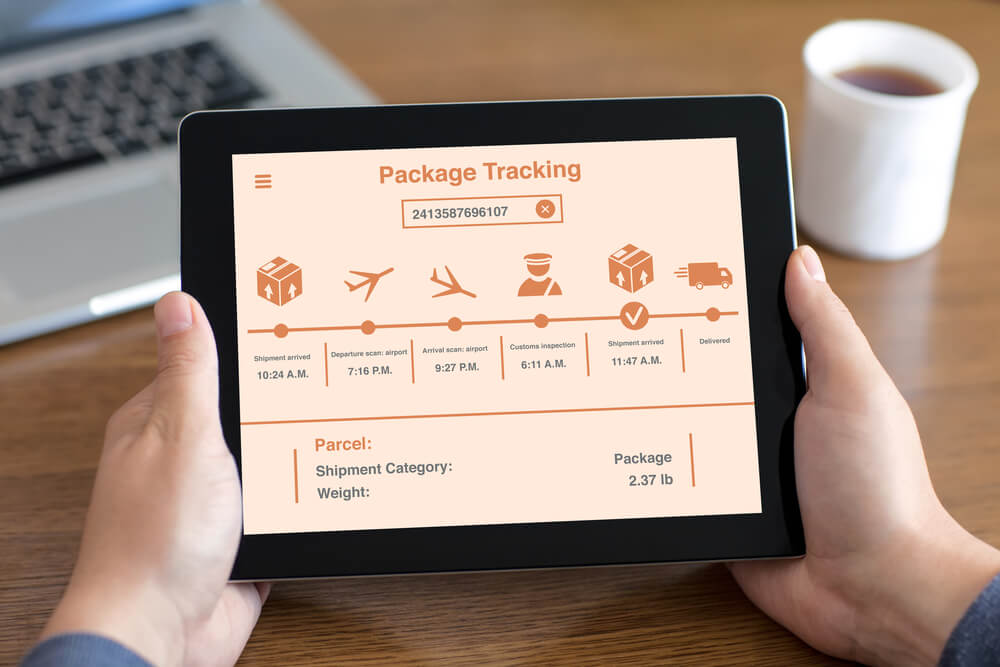Package Tracking on the Tablet