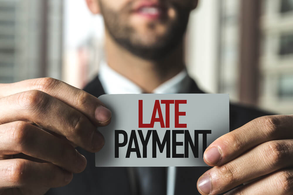 Limitations of Using Checks is Late Payments