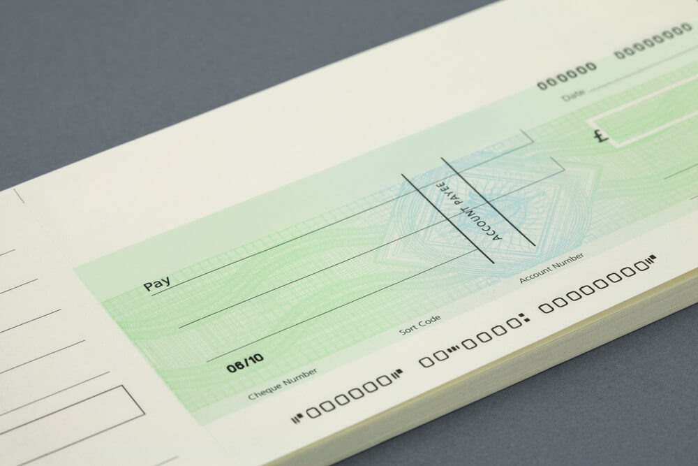 Bulk Blank Cheque and Cheque Book
