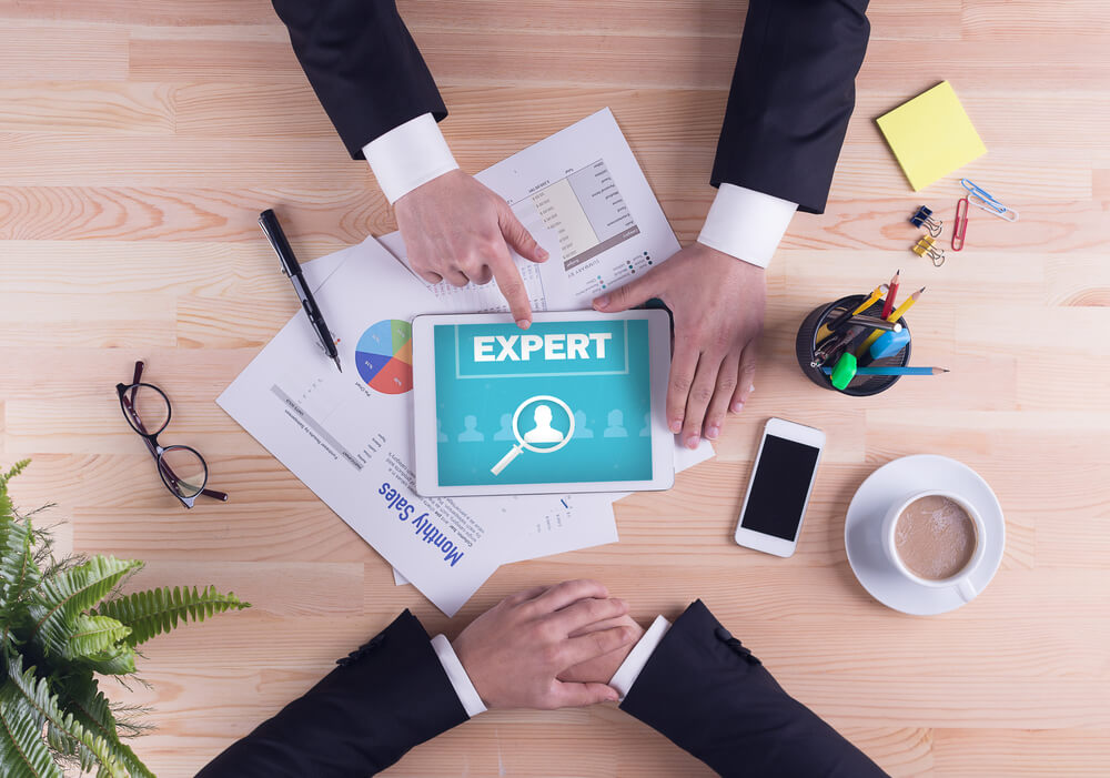 Experienced Business Team Concept - Expert